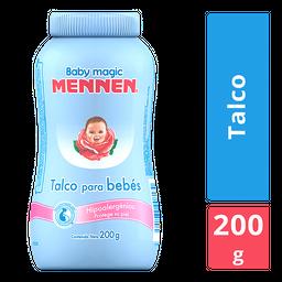 Mennen Talco Baby Magic Hipoalergénico Azul