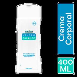 Crema Corporal Neutro Balance Hidro Equilibrante