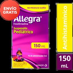 Allegra Antihistamínico Suspensión Pediátrico (600 Mg)