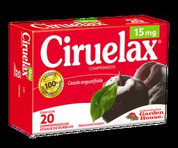 Ciruelax Laxante  20 Comprimidos