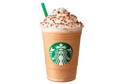 Toffee Nut Cream Frappuccino