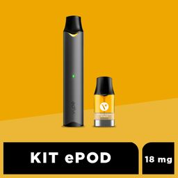 Kit Vype ePod Graphite Black 2 U