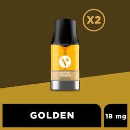 Cartucho para ePod - Golden T 18 mg/mL 2 U