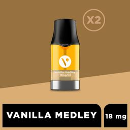 Cartucho para ePod - Vanilla Medley 18 mg/mL 2 U