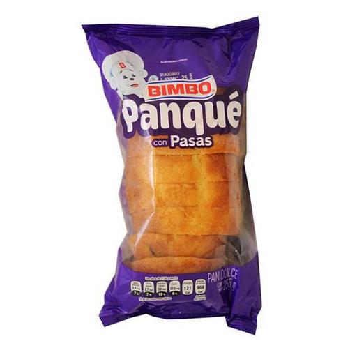 Bimbo Panqué Con Pasas