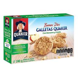 Quaker Galletas de Avena Con Manzana y Canela
