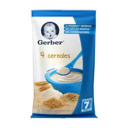 Cereal Gerber 4 Cereales 2da Etapa