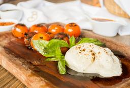 Burrata al Horno y Jitomates