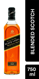 Black - Johnnie Walker - Botella 750 Ml