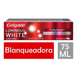 Pasta De Dientes Luminous White - Colgate - Unidad 75 Ml
