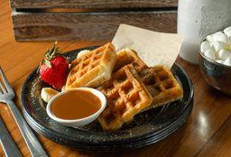 Waffles con Proteína
