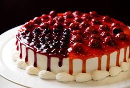Cheesecake Cereza & Blueberry Mediano