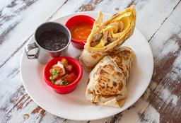 Burrito de Huevo Revuelto con Salchicha