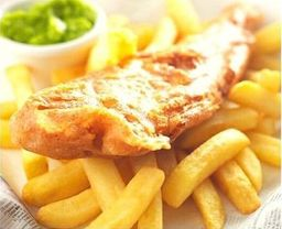 Fish and Chips Large