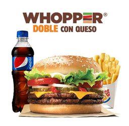 Whopper® Doble con Queso