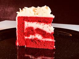Rebanada de Pastel Red Velvet