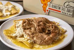 Chilaquiles con Carne Asada o Pollo