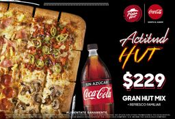 Combo Pizza Gran Hut Mix Actitud