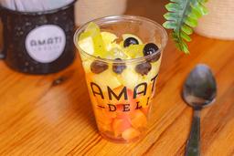 Bowl de Frutas con Yogurt 16 oz