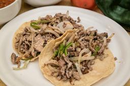 Tacos Bistec al Albañil