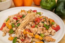 Tacos Alambre de Pollo