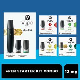 Starter combo ePen3 12 mg/mL