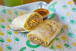 Burritos de Machaca con Huevo