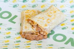 Burrito de Frijol con Queso
