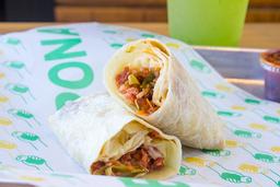 Burrito de fajita de Marlin Ranchero