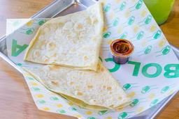 Burrito de Quesadilla