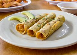 Tacos Dorados de Camarón