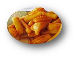 Yuquitas Fritas Con Queso