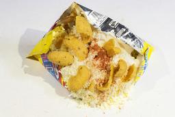 Botana con Fritos, Sal y Limón