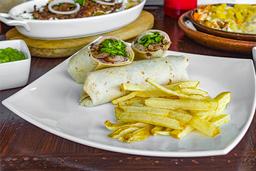 Mega Burrito de Alambre