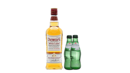 Combo Whisky Dewar's White Label + 2 Agua Mineral Pedras