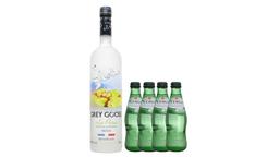 Vodka Grey Goose L'Poire+ 4 Agua Mineral Pedras