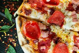 Pizza Carnes Frias