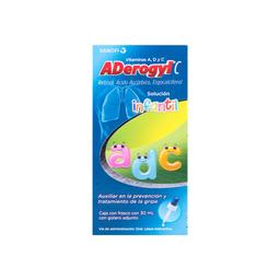 Aderogyl C Prevención de La Gripa Suspension Infantil