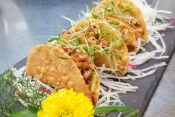 Tacos Crunchy de Rib Eye