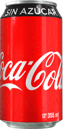 Coca-Cola sin Azúcar Lata