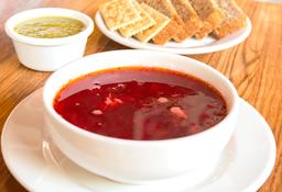 Sopa Borsh Vegetariana