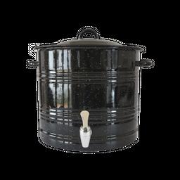 Himo Despachador de Agua Para 19.5L de Acero-Negro 1 U