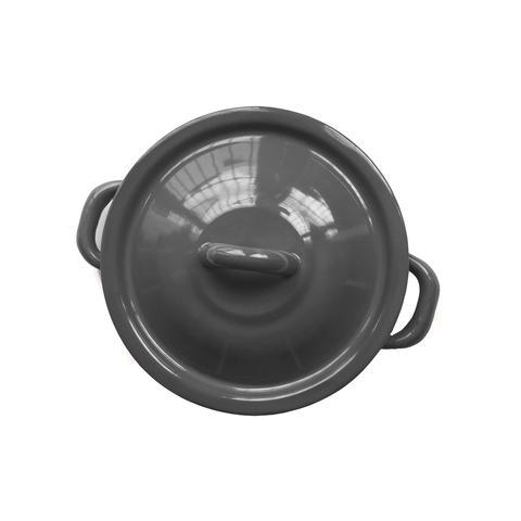 Himo Tortillero de Acero Porcelanizado-Gris Oscuro 1 U