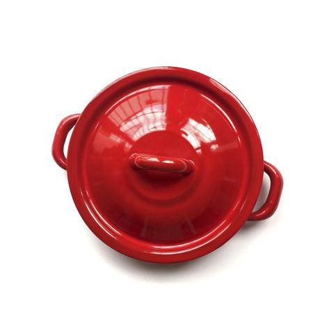Himo Tortillero de Acero Porcelanizado-Rojo Carmín 1 U