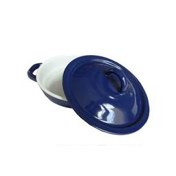 Himo Tortillero de Acero Porcelanizado-Azul Cobalto 1 U