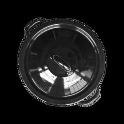 Himo Tortillero de Acero Porcelanizado-Negro 1 U