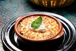 Lasagna de Berenjena con Carne