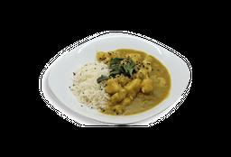 Pollo al Curry y Arroz