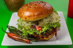 Hamburguesa Vegetariana Tradicional