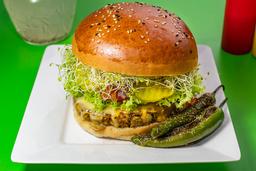 Hamburguesa Vegana Tradicional